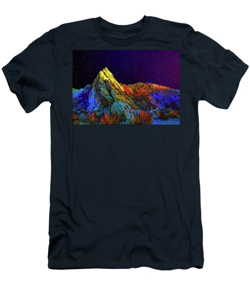 Anza Borrego Desert Peak Men's T-Shirt (Athletic Fit)