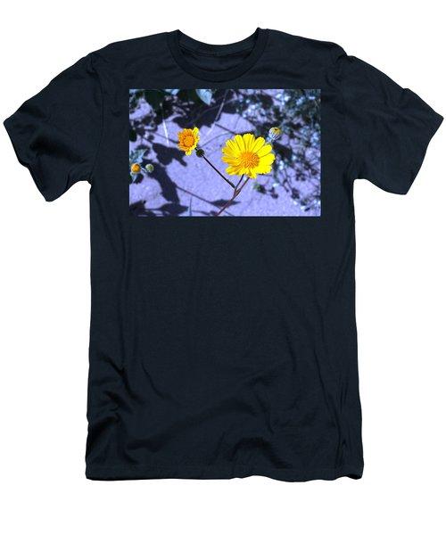 Anza Flower Men's T-Shirt (Athletic Fit)