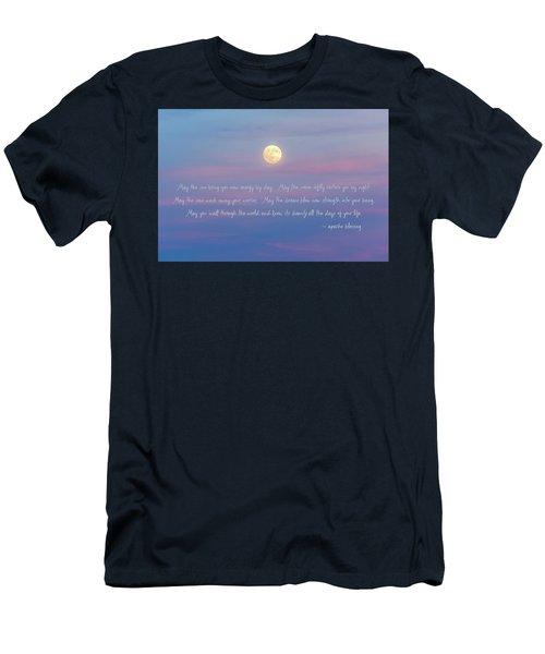 Apache Blessing Harvest Moon 2016 Men's T-Shirt (Athletic Fit)