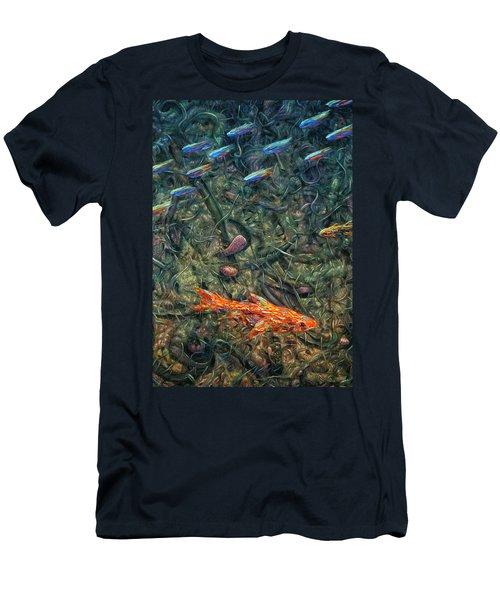 Aquarium 2 Men's T-Shirt (Athletic Fit)