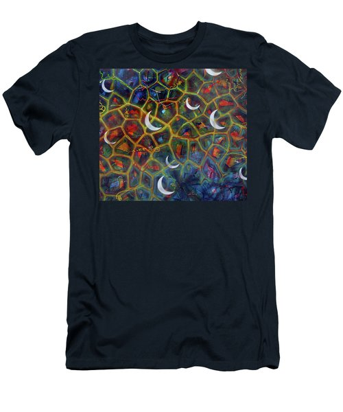 Arch 15 Crescents Part1 Men's T-Shirt (Athletic Fit)