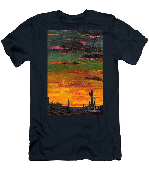 Arizona Sunset Men's T-Shirt (Athletic Fit)