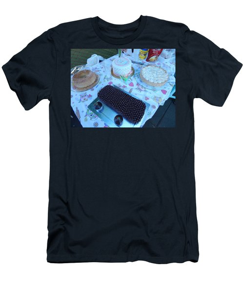 Men's T-Shirt (Slim Fit) featuring the photograph Art And Food by Beto Machado