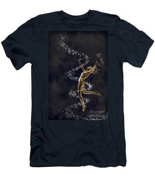 Art Deco Dancer Men's T-Shirt (Athletic Fit)