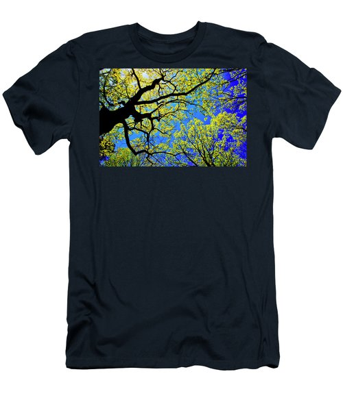 Artsy Tree Canopy Series, Early Spring - # 01 Men's T-Shirt (Athletic Fit)