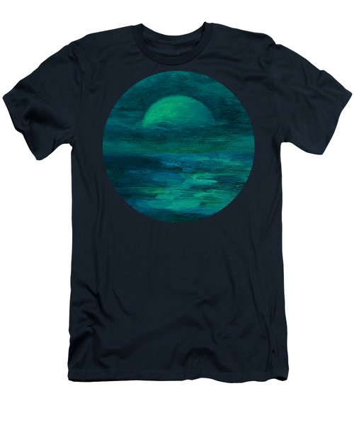 Moonlight On The Water Men's T-Shirt (Athletic Fit)