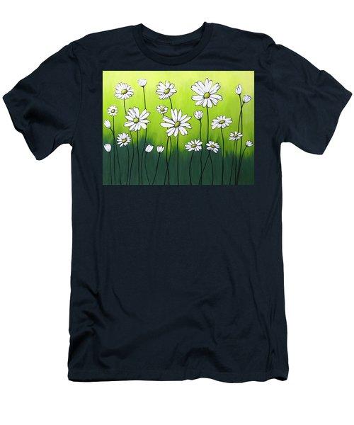 Daisy Crazy Men's T-Shirt (Athletic Fit)