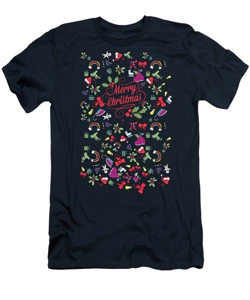 Santa Claus Men's T-Shirt (Athletic Fit)