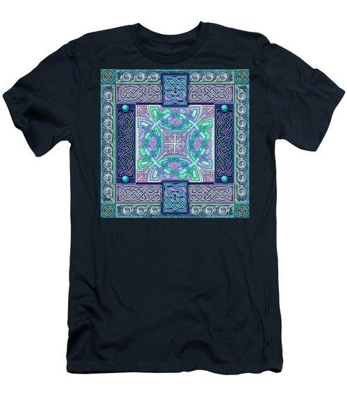 Celtic Atlantis Opal Men's T-Shirt (Athletic Fit)