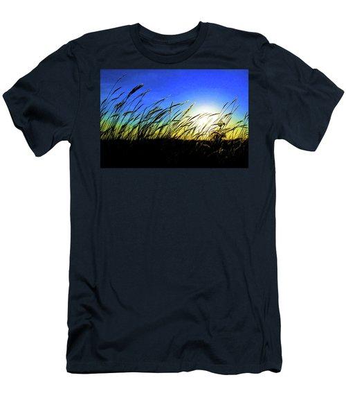 Tall Grass Men's T-Shirt (Slim Fit) by Bill Kesler