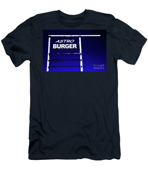 Men's T-Shirt (Slim Fit) featuring the photograph Astro Burger by Jim and Emily Bush