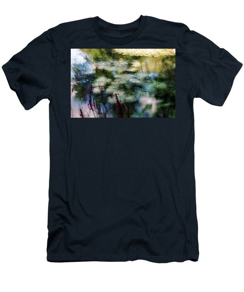 At Claude Monet's Water Garden 2 Men's T-Shirt (Athletic Fit)
