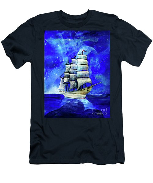 At Sea Men's T-Shirt (Athletic Fit)