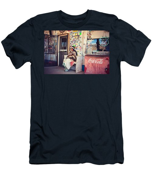 At The Hackberry General Store Men's T-Shirt (Athletic Fit)