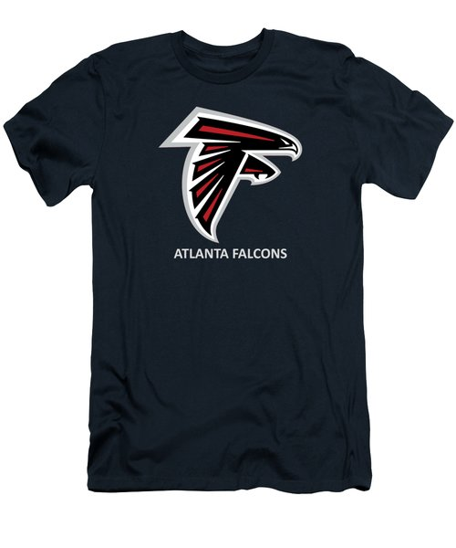 Atlanta Falcons Barn Men's T-Shirt (Slim Fit) by Movie Poster Prints