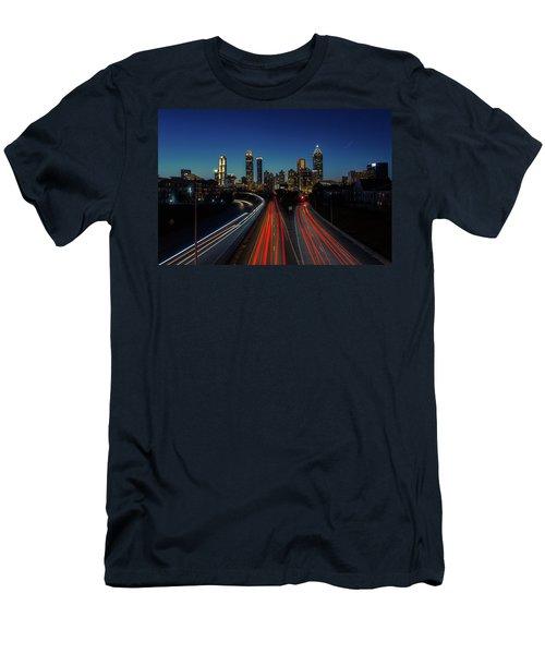 Atlanta Skyline 1 Men's T-Shirt (Athletic Fit)