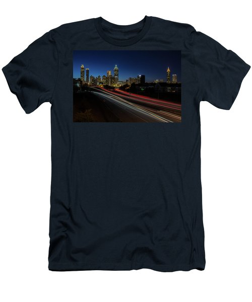 Atlanta Skyline 2 Men's T-Shirt (Athletic Fit)