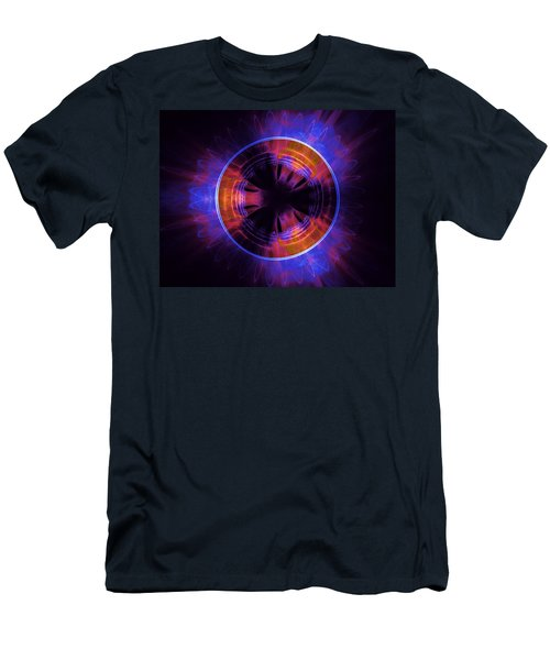 atmospheric Burner with Gas Flames Men's T-Shirt (Athletic Fit)