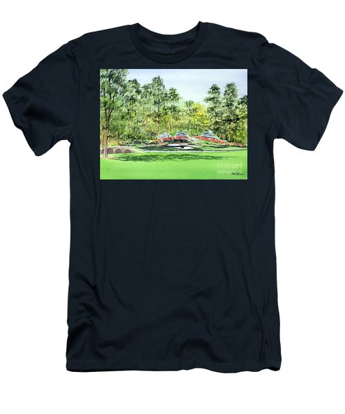 Augusta National Golf Course Men's T-Shirt (Slim Fit) by Bill Holkham