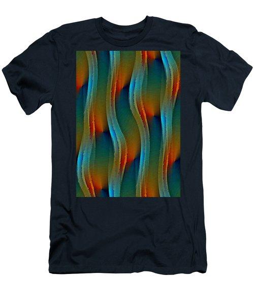 Aurora Oil Men's T-Shirt (Athletic Fit)