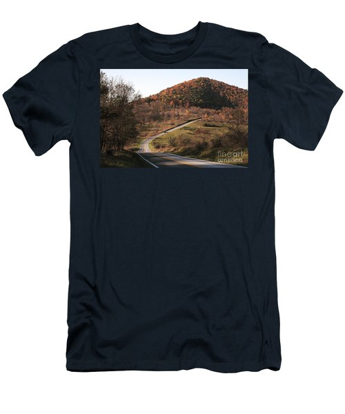 Autumn Hill Near Hancock Maryland Men's T-Shirt (Athletic Fit)