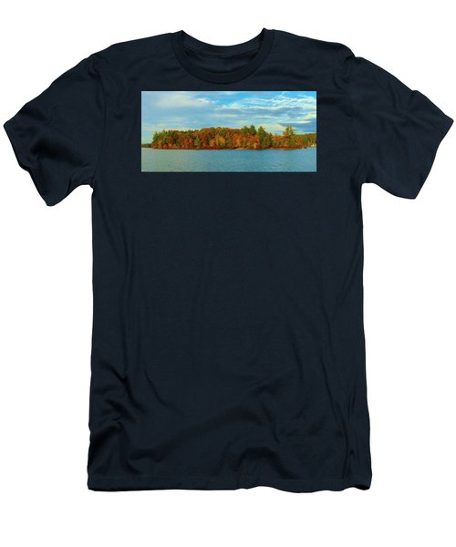 Autumn In Maine Men's T-Shirt (Athletic Fit)