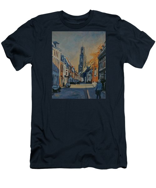 Autumn In The Lange Nieuwstraat Utrecht Men's T-Shirt (Athletic Fit)