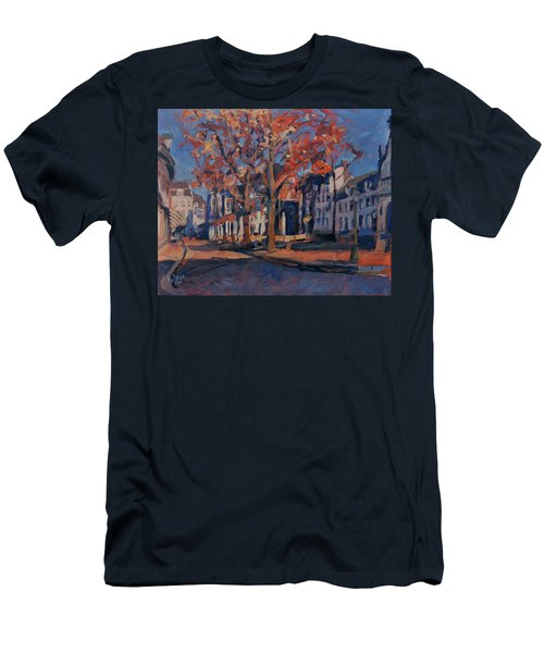 Autumn On The Square Of Our Lady Maastricht Men's T-Shirt (Athletic Fit)