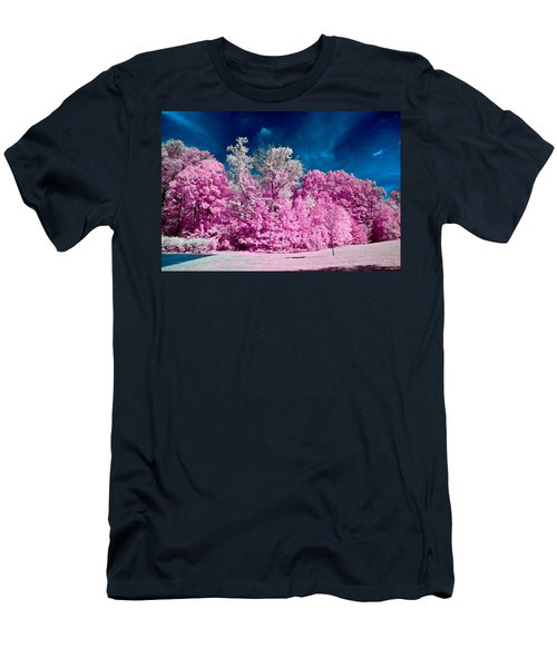 Autumn Trees In Infrared Men's T-Shirt (Athletic Fit)