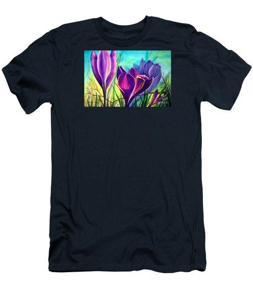 Awakening Men's T-Shirt (Slim Fit) by Nancy Cupp