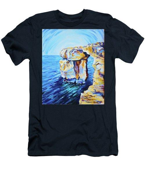 Azure Window Men's T-Shirt (Athletic Fit)