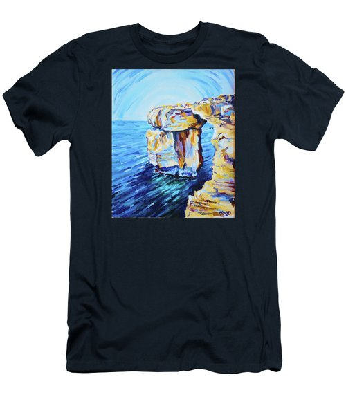Azure Window Men's T-Shirt (Athletic Fit)