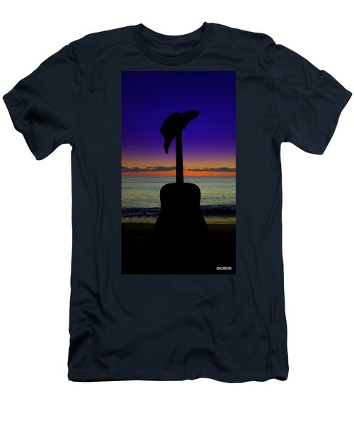 Badguitar  Men's T-Shirt (Athletic Fit)
