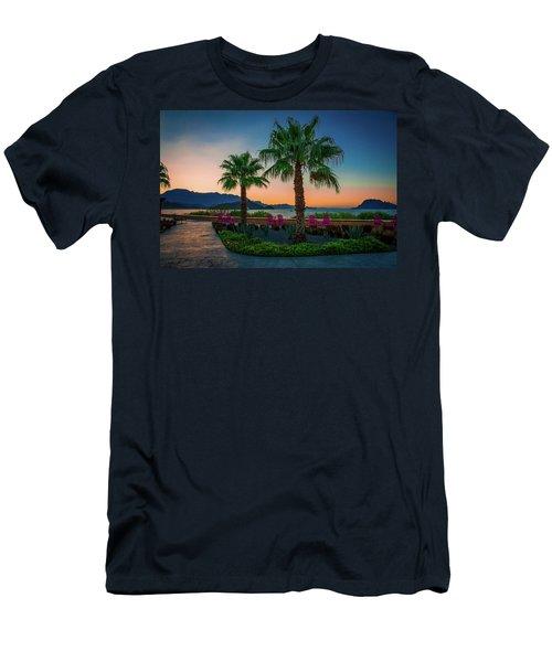 Baja Sunset Men's T-Shirt (Athletic Fit)