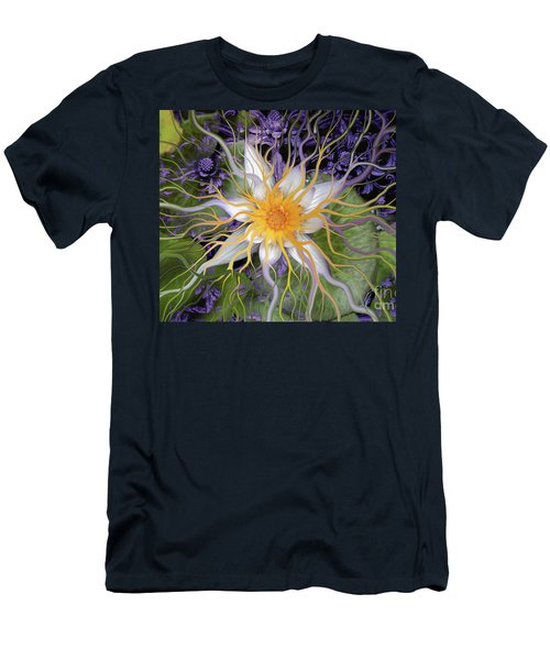 Bali Dream Flower Men's T-Shirt (Athletic Fit)