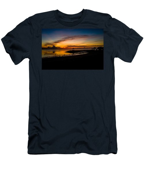 Bali Sunrise I Men's T-Shirt (Slim Fit) by M G Whittingham