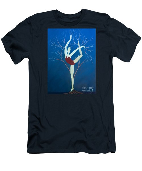 Ballerina Tree Men's T-Shirt (Athletic Fit)