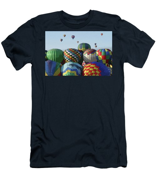 Balloon Traffic Jam Men's T-Shirt (Athletic Fit)