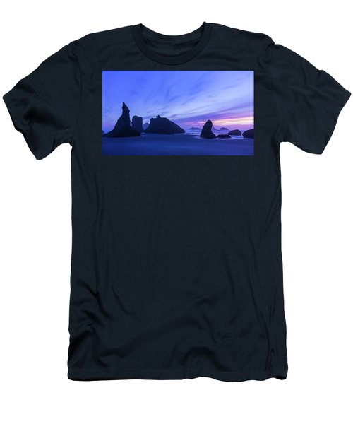 Bandon Blue Hour Men's T-Shirt (Athletic Fit)