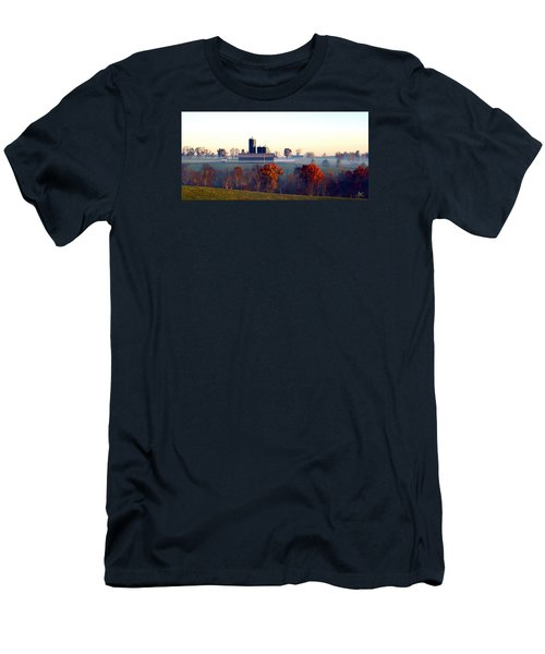 Barn And Silo 3 Men's T-Shirt (Athletic Fit)
