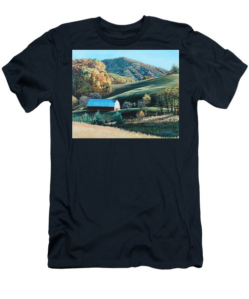 Barn At Blowing Rock Men's T-Shirt (Athletic Fit)