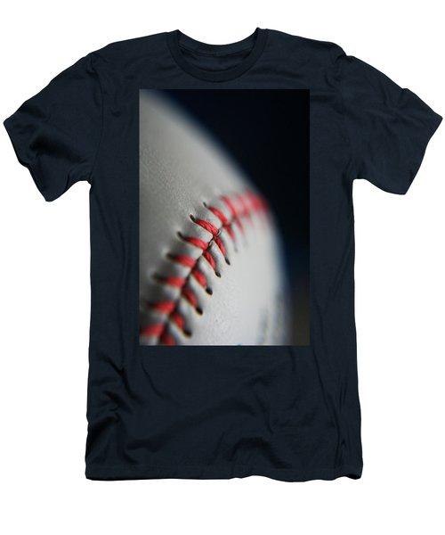 Baseball Fan Men's T-Shirt (Slim Fit) by Rachelle Johnston