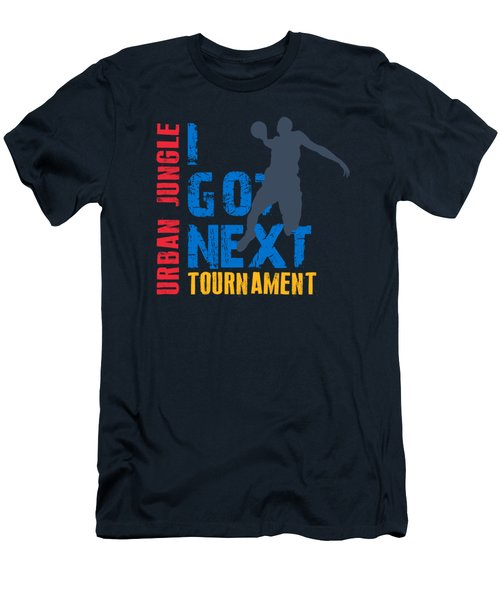 Basketball I Got Next 3 Men's T-Shirt (Athletic Fit)