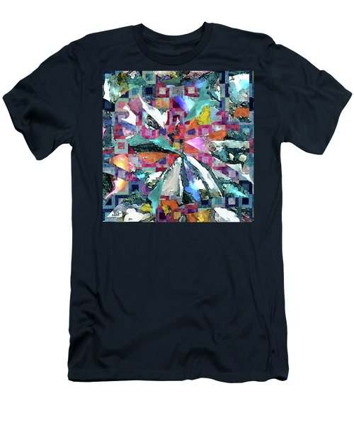 Batik Overlay Men's T-Shirt (Athletic Fit)