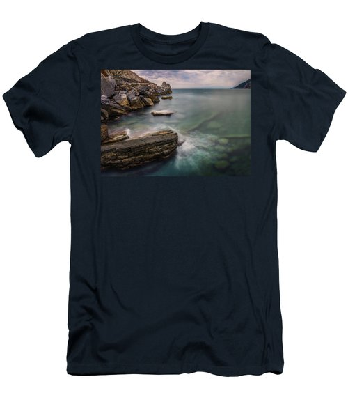 Bay Of The Gulf Of Poets Men's T-Shirt (Athletic Fit)