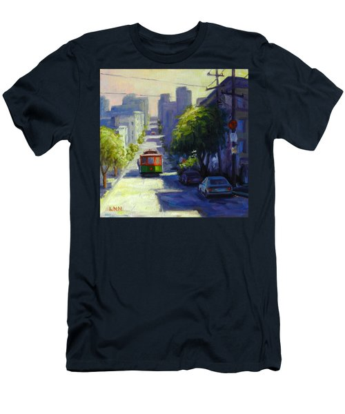 Bay Street San Francisco Men's T-Shirt (Athletic Fit)