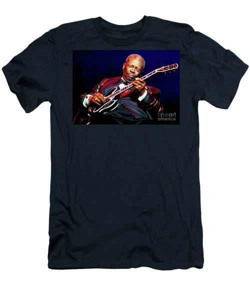 Bb King Men's T-Shirt (Slim Fit)