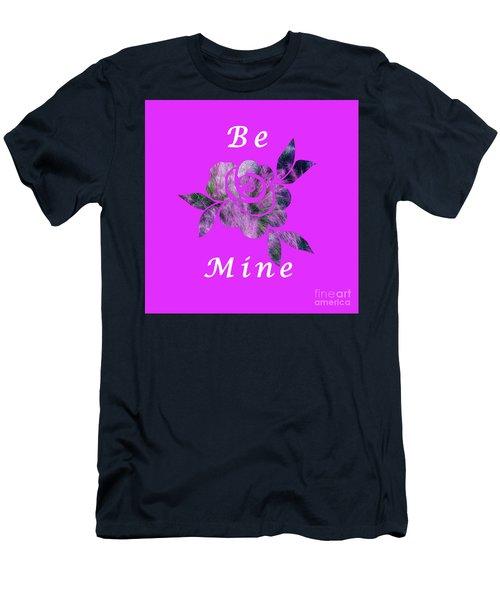 Be Mine Flower Men's T-Shirt (Athletic Fit)