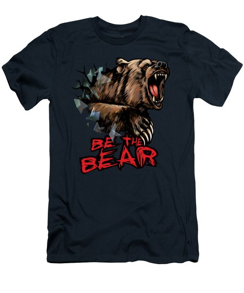 Be The Bear Men's T-Shirt (Athletic Fit)