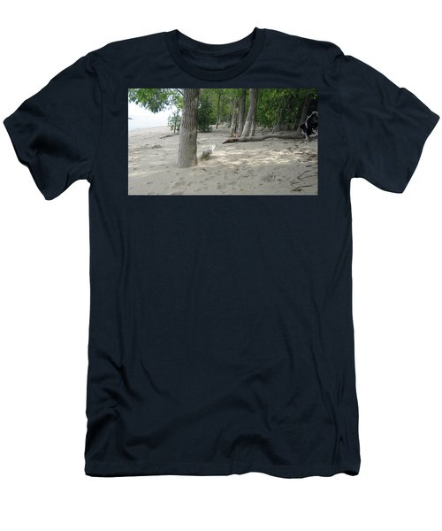 Beach At The Lake Men's T-Shirt (Athletic Fit)